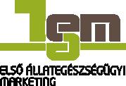 Első állategészségügyi marketing Logo